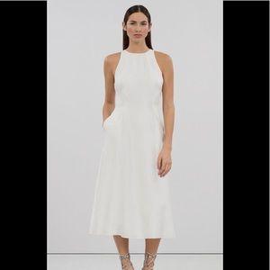 Rachel Roy High Neck A Line Midi Dress
